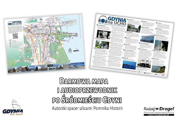 Nasza mapa i audioprzewodnik po Gdyni
