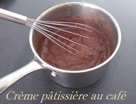 Crème pâtissière au café