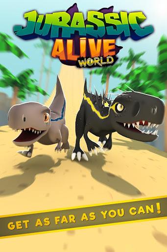 Jurassic Alive: World T-Rex Dinosaur Game screenshot 1