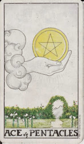 1 Ace Of Pentacles I