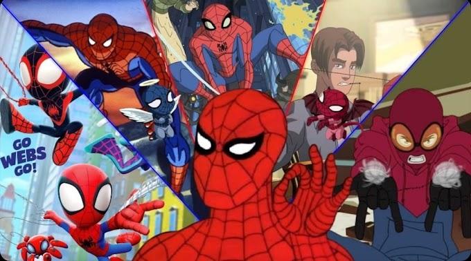 Lista   Conheça todas as animações lançadas do Homem-Aranha