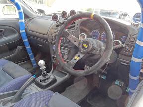 Mitsubishi Evo 6 - Interior