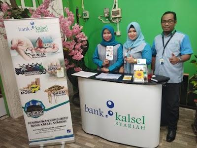 Dukung Sertifikasi APJI, Bank Kalsel Syariah Buka Stand di Cafe Ini