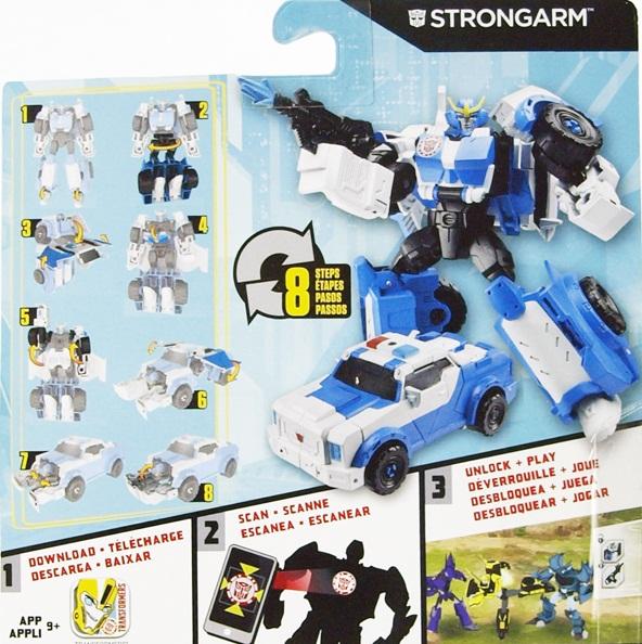 Transformers Robot RID Strongarm phiên bản chiến binh