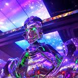 robots at the Robot Restaurant in Kabukicho in Kabukicho, Tokyo, Japan