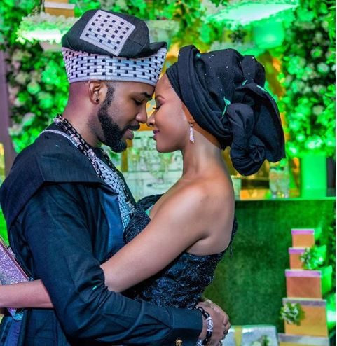 Banky W Shares Lovely Message As He Celebrates Wedding Anniversary With Adesua