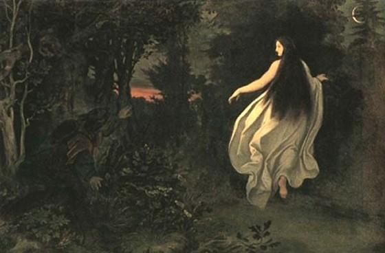My World Moritz+Ludwig+von+Schwind+Apparition+in+the+Forest