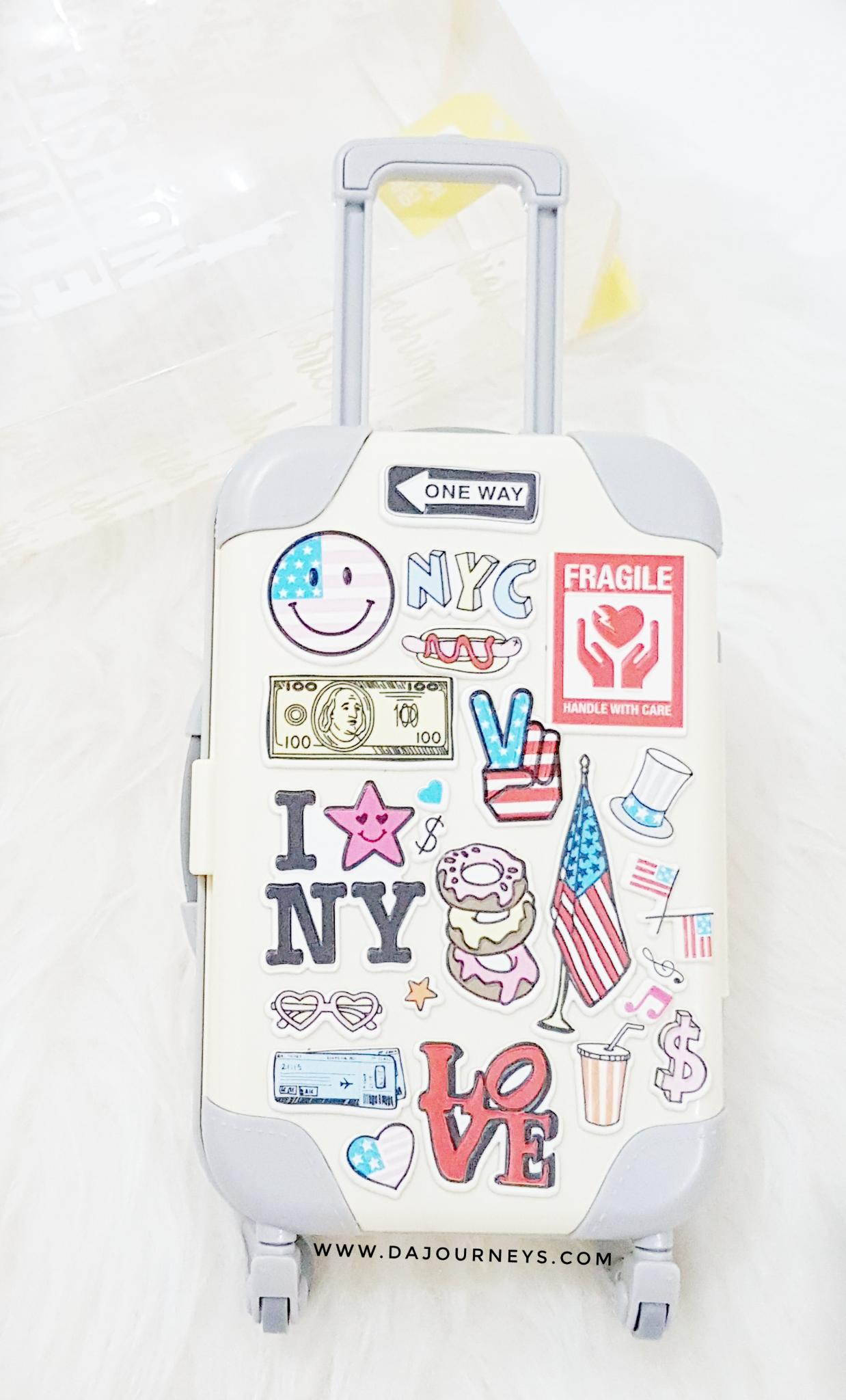 Review Peripera Fashion People Carrier New Yorker Set