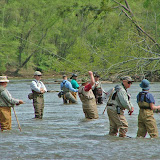 Fly fishing for Vets