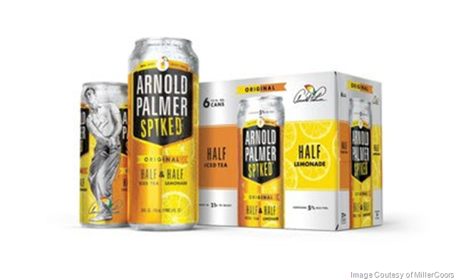 MillerCoors Arnold Palmer Spiked Half & Half Makes Its Big Debut