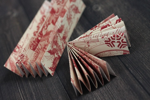 Folding paper fans
