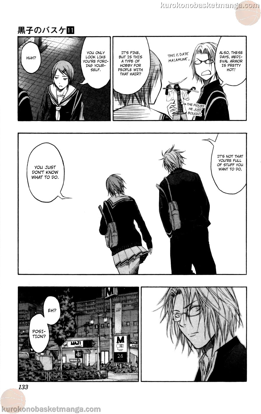 Kuroko no Basket Manga Chapter 96 - Image 07