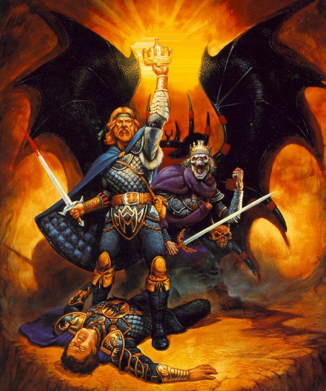 Crown, Magick Warriors 4