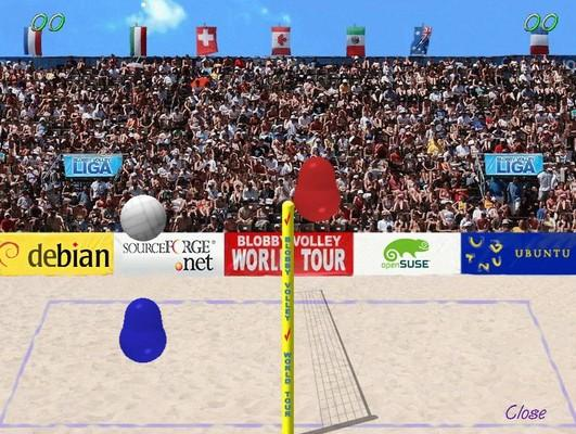 Blobby Volley 2 on HTML5