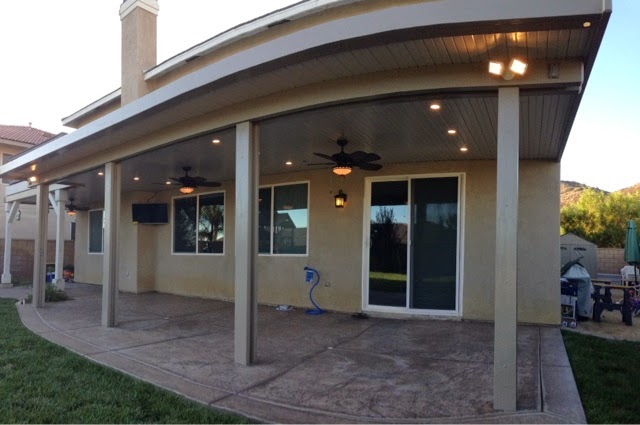Lovely Here Is An Example Of Recessed Lighting On An Aluminum Patio Cover Using  The Lightstrip.