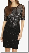 Phase Eight Ombre Sequin Knitted Dress