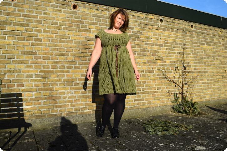 Hen ad vejen - Hæklet kjole