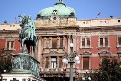 Museum in Belgrade Serbia