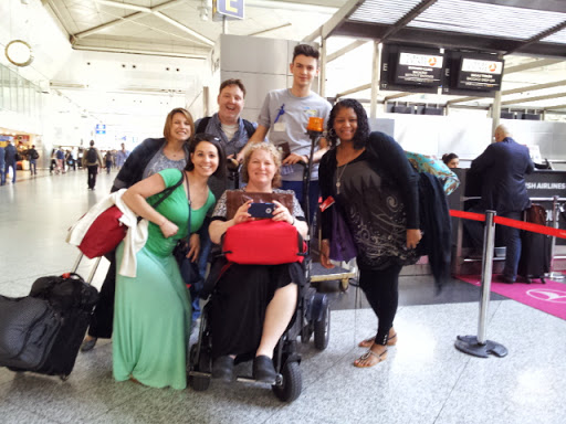 Some White House Travel Bloggers at Ataturk Airport, Istanbul. From What's It Really Like to Fly Turkish Airlines Business Class?