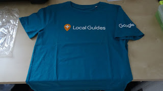 Google Local Guides t-shirt