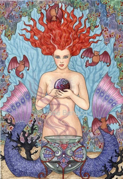 Jade Bengco Art Mermaid, Undines