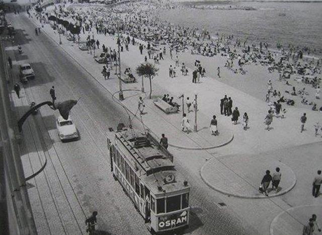 Playa Riazor 1961....Que cambio