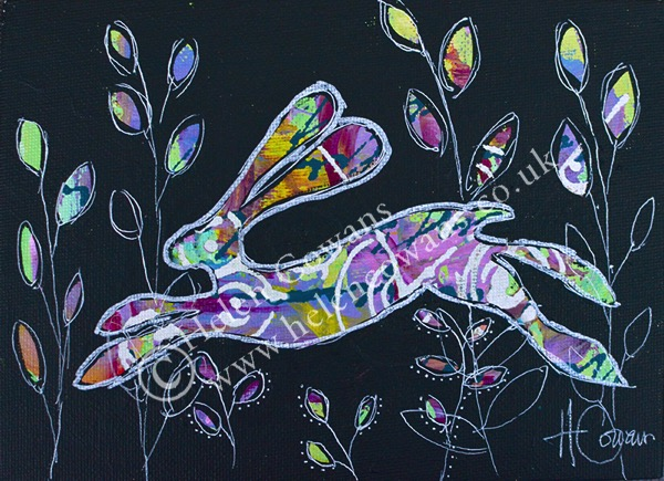 Hare on board 5x7