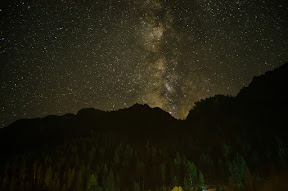 The traditional milky way shot, Naltar Valley
