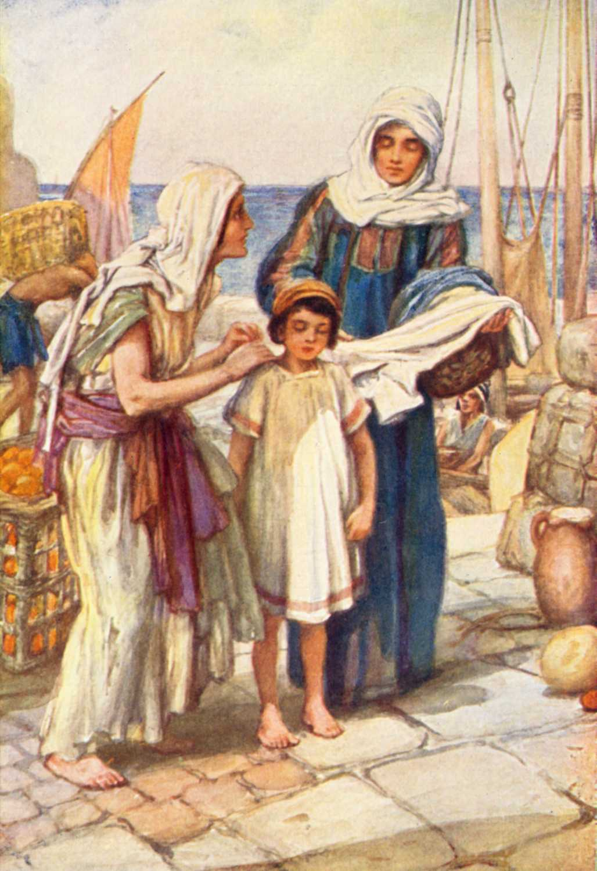 Bible Stories Samson And Delilah Bible Vector