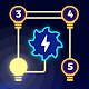 Light Puzzle - Line Connect - All Light (game)