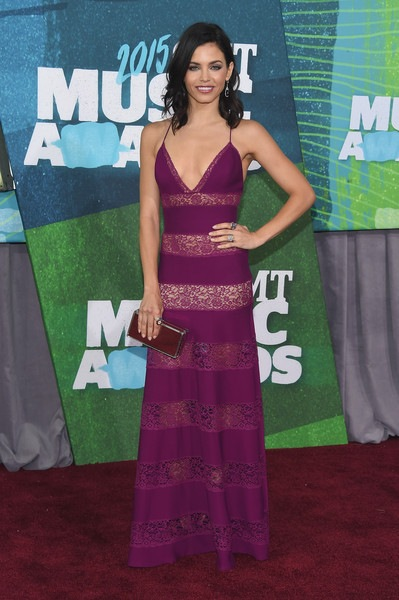 Jenna Dewan-Tatum attends the 2015 CMT Music awards