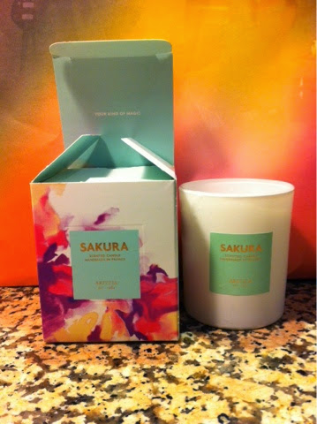 Aritzia private sale 2014 clientele candle Sakura