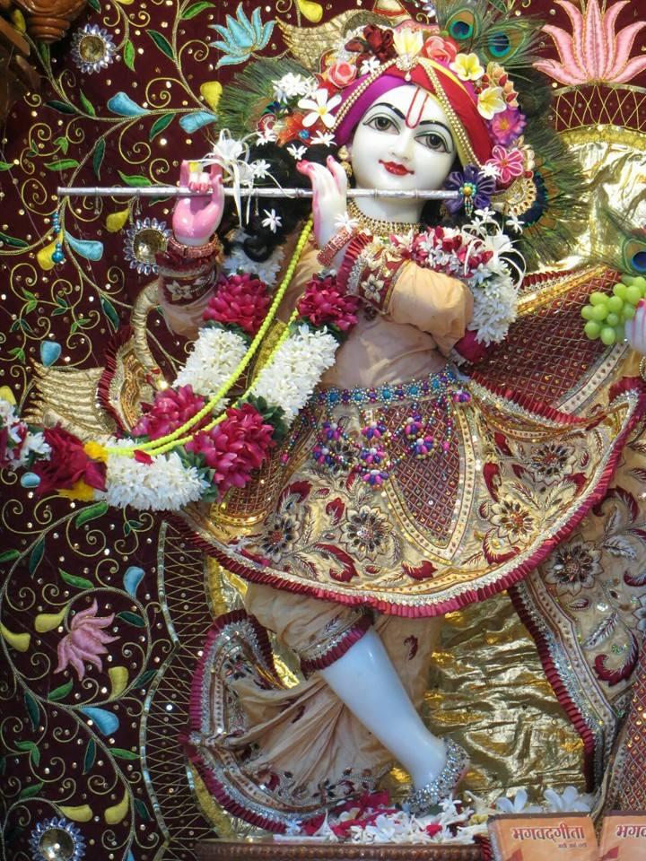 ISKCON Aravade Deity Darshan 18 Dec 2015 (2)