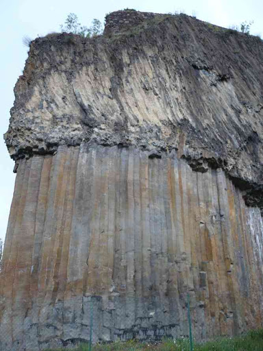 Orgues basaltiques à Chilhac