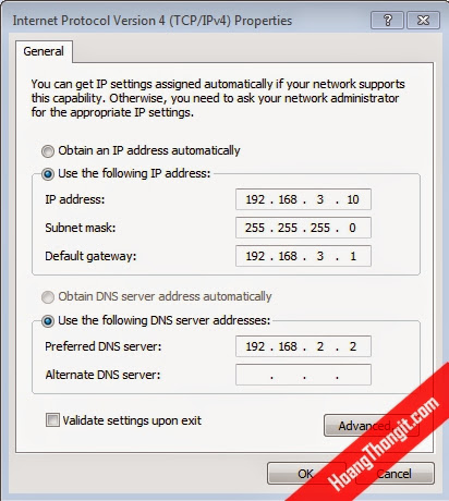 VPN Client to site sử dụng giao thức L2TP Preshared Key
