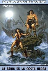 """Actualización 24/05/2017: Nexus El Recopilador de Historias comparte con nosotros el tomo 22 de esta gran recopilación magníficamente editada por el mismo. BELIT, el gran amor de CONAN, Conan ha tenido muchas """"amantes"""" pero no querrás perderte este gran tomo lleno de aventuras muy peligrosas, con el gran amor de CONAN, la reina de la costa negra la bella e indomable BELIT.., aquí se concluye la etapa de Conan hasta los 23 años. PERO continuamos hasta los 72, falta poco, así que descansa en la taberna solo un rato porque esto continua..."""