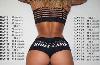 Join me on the Taz's Angel 30 day squat challenge!   Testing