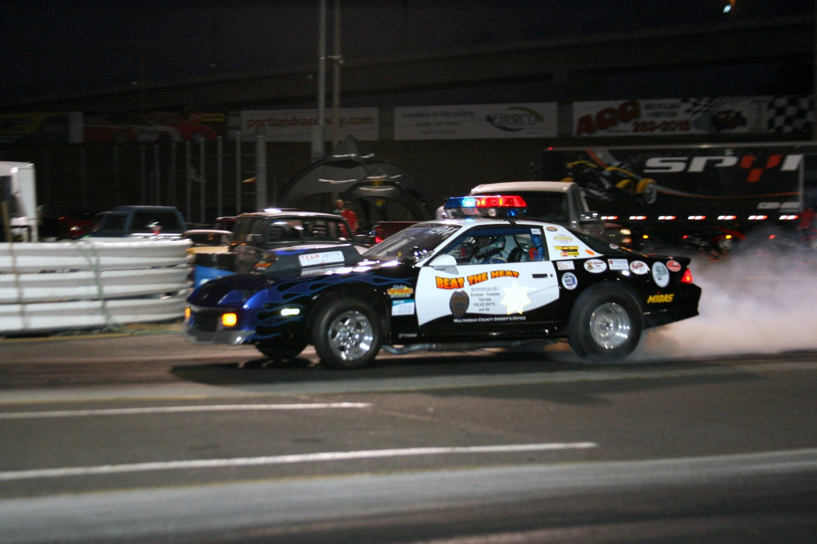 Portland International Raceway Fan Photos Beat 2009 View