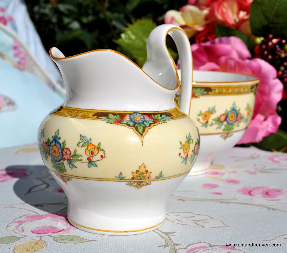 Fine Hand Painted Vintage Mintons China Creamer