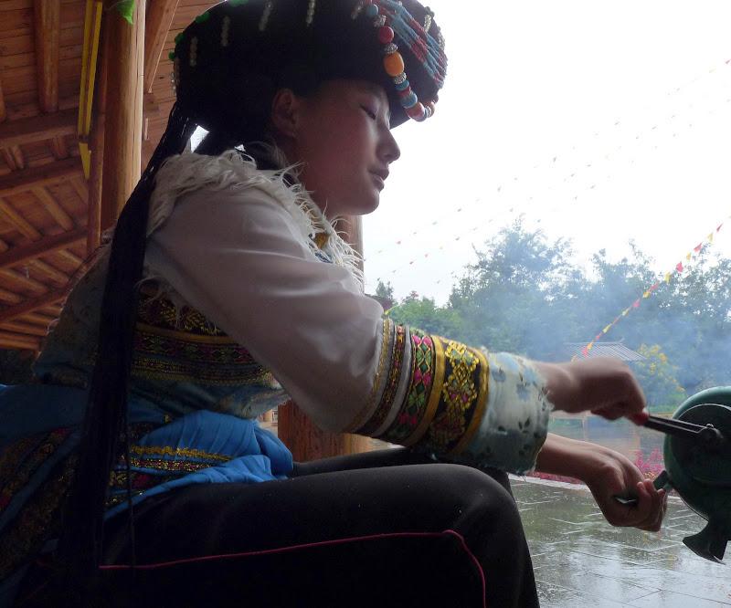 CHINE.YUNNAN.KUN MING Village des minorités 2 - P1270725.JPG