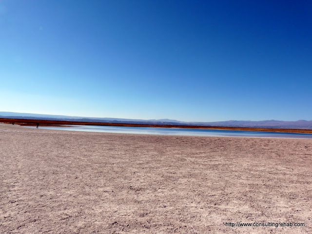 That's Laguna Cejar ... it's very, very salty... you float
