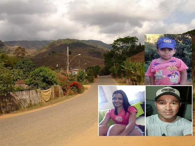 Veículo cai no Rio Carangola em São Manoel do Boi e mata casal e criança de 06 anos