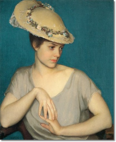 William McGregor Paxton - The Leghorn Han