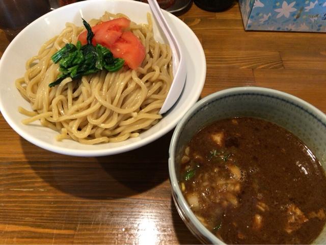 麺屋蕃茄 濃厚つけ麺大盛