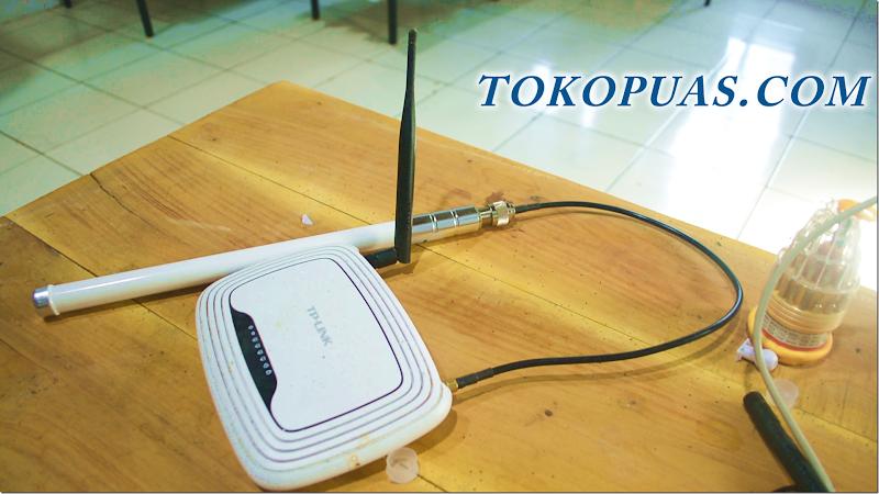cara memperkuat router wifi