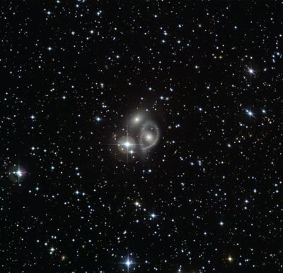 galáxia em anel da Vela