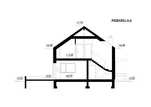 LIM House 01 - Przekrój
