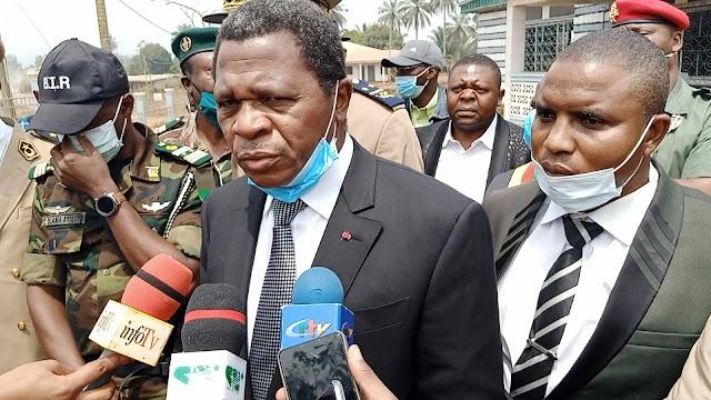 Paul Atanga Nji commissions Bafut D.O's Office, salutes Civil-military cooperation