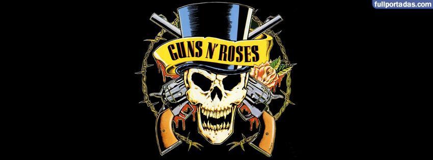 Portadas para facebook Guns n roses, logo