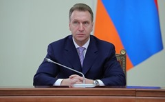 First Deputy Prime Minister of the Russion Federation Igor Shuvalov.